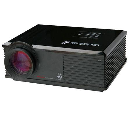 Pyle PRJDTU High Definition LED Widescreen Projector Upto Viewing Screen Built In Speakers D Capable 151 - 155