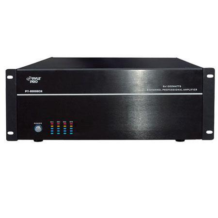 Pyle PTCH Rack Mount W Channel StereoMono Amplifier U Rack Space 65 - 309