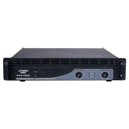 Pyle PTA W Professional Power Amplifier Hz kHz Frequency Response 99 - 191