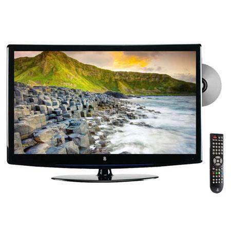 Pyle PTCLD Hi Definition LCD Flat Panel TV Built In DVD PlayerResolution Contrast Ratio cdm Brightne 269 - 242