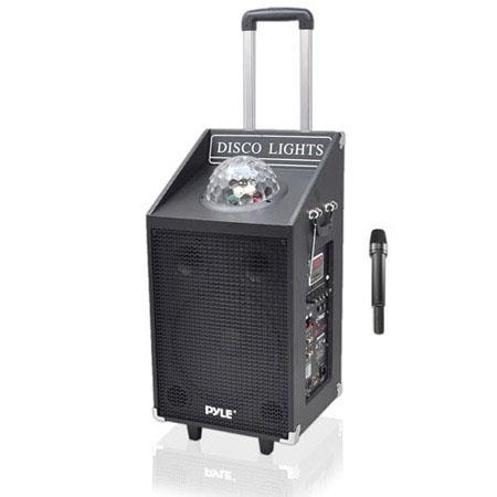Pyle W Bluetooth Portable PA Disco Jam Speaker System USBSD Readers 119 - 26
