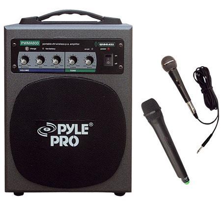 Pyle watt Wireless Battery Powered PA System 99 - 467