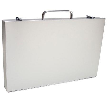 Pina Zangaro Camden Series Attache Style Aluminum Portfolio Case Mediumx 162 - 11