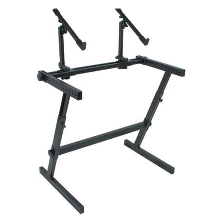 Quik Lok Double Tier Height Adjustable Keyboard Stand 120 - 761