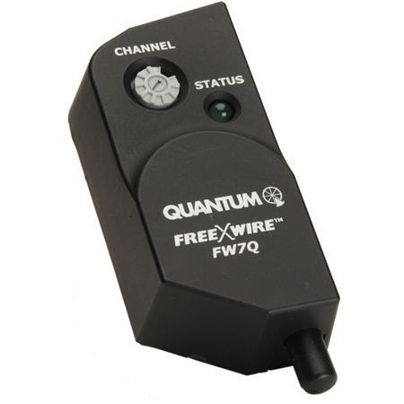 Quantum FW Q FreeXWire Radio Receiver the Qflash d or d Flashes 108 - 559