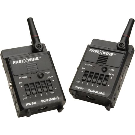 Quantum FW FreeXWire Digital Set FWT Transmitter FWR Receiver Sync Cord Mounting Kit 168 - 471