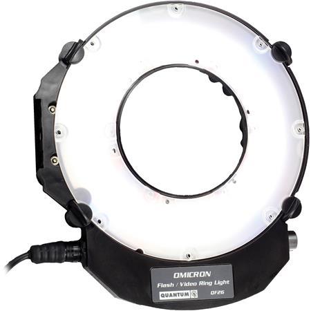 Quantum Instruments Omicron LED Ringlight Still Video 250 - 239