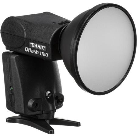 Quantum Trio Basic QFCB Flash Canon Built TTL Camera Adapter Requires Turbo Power 79 - 384
