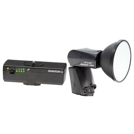 Quantum Trio Basic QFBC Flash Canon Built TTL Camera Adapter Bundle Quantum Turbo Blade Ultra Compac 130 - 534