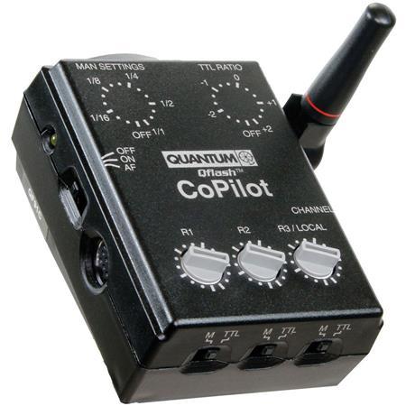Quantum CoPilot User Friendly Wireless TTL Flash Controller Auto Focus Assist Canon DSLR Cameras m R 144 - 305