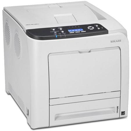 Ricoh Aficio SP CDN Color Laser Printer ppm Print Speed MB Standard Memorydpi Resolution MHz Process 233 - 281