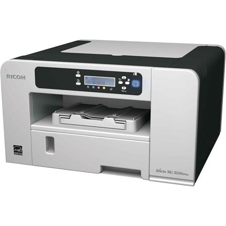 Ricoh Aficio SG DNW GELJET Printer ppm Full Color Print Speeddpi CharactersLine Monochrome LCD Displ 132 - 357