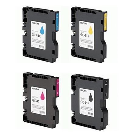 Ricoh Complete Cartridge Kit DN Inkjet Printer Cyan Magenta Plus Dust Off Spray Can 149 - 78