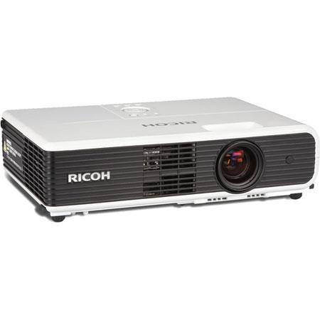 Ricoh PJ WXN Digital Network Projector lumens Aspect Ratiodpi WXGA Resolution LCD Technology Contras 145 - 241