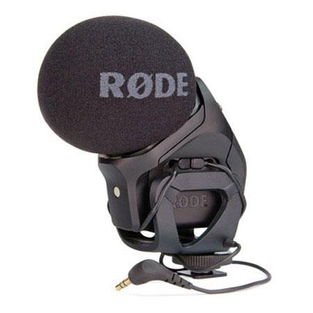 Rode Stereo VideoMic Pro On Camera Microphone Hz to kHz Frequency Range ohm Output Impedance 237 - 363