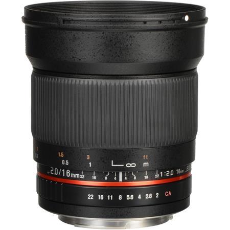 Rokinon F ED AS UMC CS Lens Canon EF S Mount 89 - 445