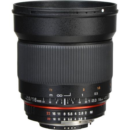 Rokinon F ED AS UMC CS Lens Nikon F Mount Cameras 96 - 164