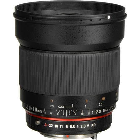 Rokinon F ED AS UMC CS Lens PentaK APS C Mount Cameras 96 - 164