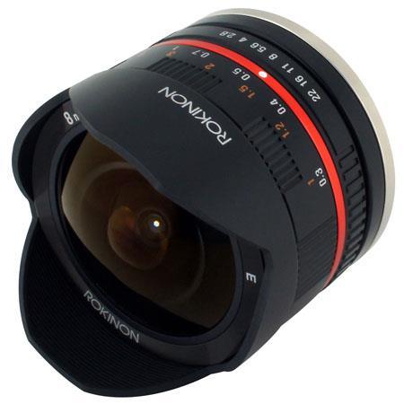 Rokinon f UMC Fish Eye Lens Sony E Mount  46 - 667