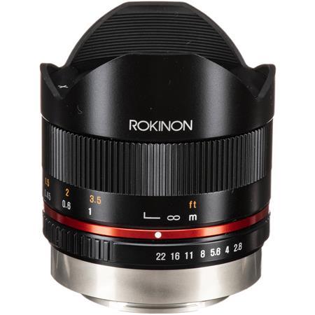 Rokinon f UMC Fish Eye Lens Fujifilm Mount  46 - 667