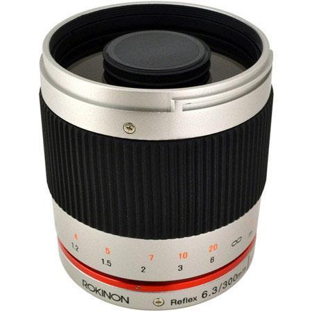 Rokinon Reflef ED UMC CS Lens Fujifilm Mount Silver 237 - 363