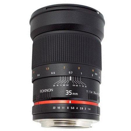 Rokinon f Manaul Focus Lens Olympus  381 - 6
