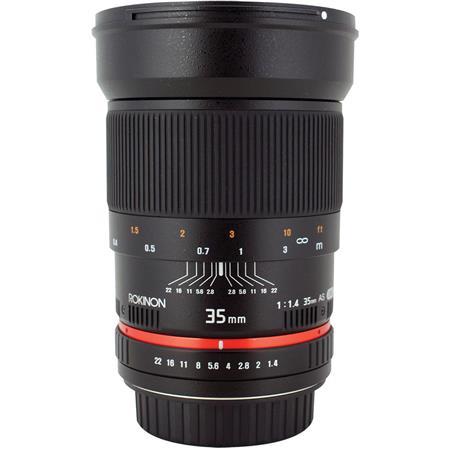 Rokinon f Manual Focus Lens Nikon Digital SLRs Automatic Chip 381 - 6