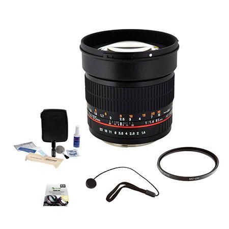 Rokinon f Aspherical Lens Olympus DSLR Cameras Bundle New Leaf Year Drops Spills Warranty Pro optic  270 - 114