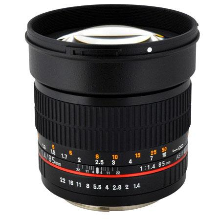 Rokinon f Aspherical Lens Sony Alpha DSLR Cameras 49 - 487