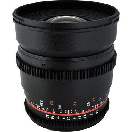 Rokinon T Wide Angle Cine Lens Micro Four Thirds 12 - 629