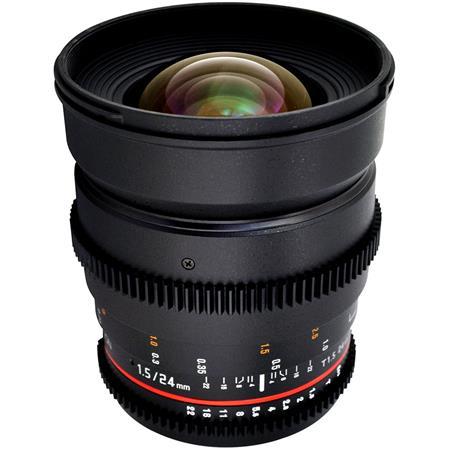 Rokinon T Cine Lens Canon EF Mount 83 - 121