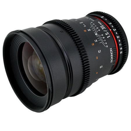 Rokinon T Cine Lens Sony Alpha 116 - 240