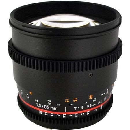 Rokinon t Aspherical Lens Nikon De Clicked Aperture and Follow Focus Fixed Lens 83 - 524