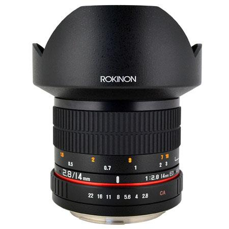 Rokinon f IF ED MC Super Wide Angle Lens Nikon 54 - 573