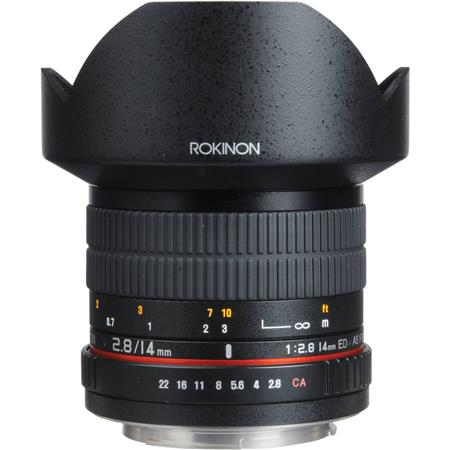Rokinon f IF ED MC Super Wide Angle Lens Sony 158 - 331