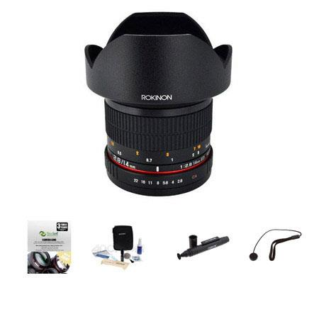 ROKINON F AS IF ED UMC Super Wide Angle Lens Sony E Mount Bundle New Leaf Year Drops Spills Warranty 269 - 338