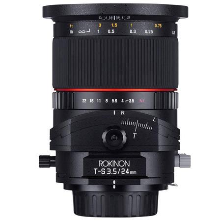 Rokinon f Tilt Shift Lens Nikon 114 - 244