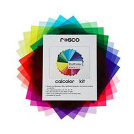 Rosco Calcolor Kit Thirty Three CalColor Filter Sheets Gelly Roll Carrier Protector 123 - 680