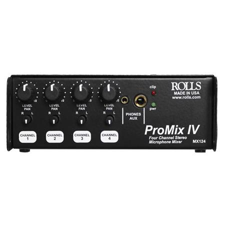 Rolls MX Portable Channel Stereo Mixer 97 - 29
