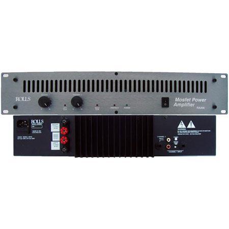 Rolls RA W Channel Power Amplifier 120 - 677