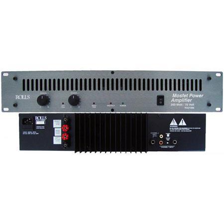 Rolls RAB W Stereo\W Bridged Professional Power Amplifier 60 - 748