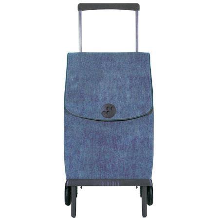 Rolser Plegamatic Orbita Vaquero Shopping Trolley Azul 58 - 582