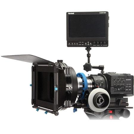 Redrock Micro Studio Bundle microFollowFocus Blue Sony FS FS  55 - 582