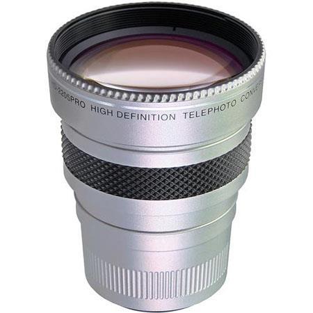 RaynoHD PRO High Definition Super Telephoto Conversion LensAdapter Rings LS Lens Shade Silver 54 - 718