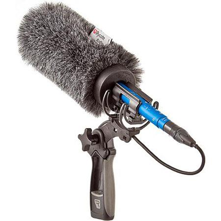 Rycote cm Standard Hole Softie Kit Shotgun Microphones Lyre Mount and Pistol Grip Handle 77 - 509