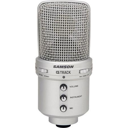 Samson G Track USB Recording Microphone LineInstrument Inputs and Direct Headphone Monitoring 59 - 146