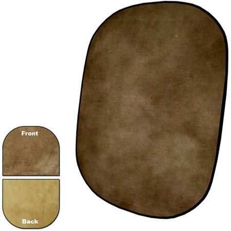 Savage InfinityCollapsible Disc Reversible Muslin Style Background Earth Tone 150 - 335