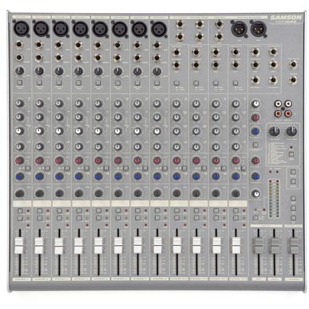 Samson MDR Channel Bus Mixer DSP 80 - 124