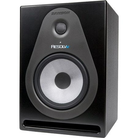 Samson Resolv SE Way Active Studio Reference Monitor Hz to kHz Frequency Response Watts RMS Power Oh 16 - 228