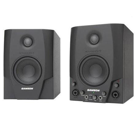 Samson GT Active Nearfield USB Studio Monitors Pair 53 - 781